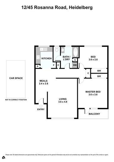 12/45 Rosanna Road, Heidelberg 3084, VIC Apartment Photo