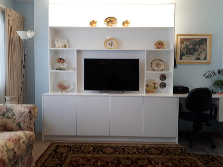 Narra master bed with wall unit. 1562320846 primary