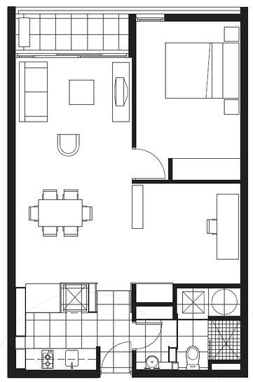 617D/604 Swanston Street, Carlton 3053, VIC Apartment Photo