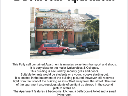 Apartment - 52A George  Str...