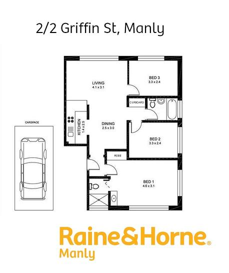 2/2 Griffin Street, Manly 2095, NSW Apartment Photo