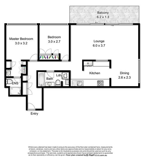 Two bedroom floorplan with kitchen separation 1582681493 primary