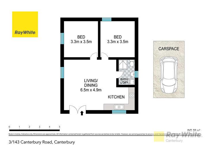 3/143-145 Canterbury Road, Canterbury 2193, NSW Apartment Photo