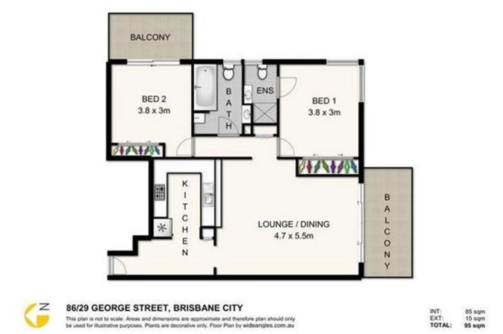 86/29 George Street, Brisbane 4000, QLD Unit Photo