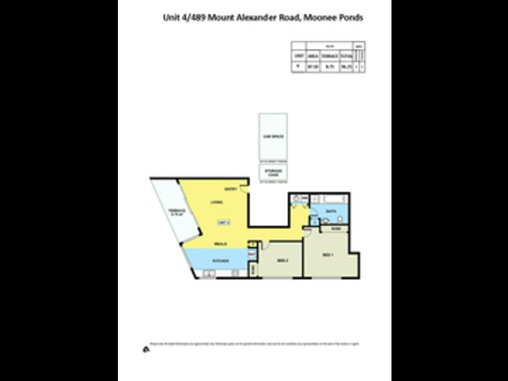 4/489 Mount Alexander Road, Moonee Ponds 3039, VIC Apartment Photo
