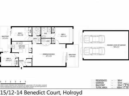 15/12-14 Benedict Court, Holroyd 2142, NSW Unit Photo