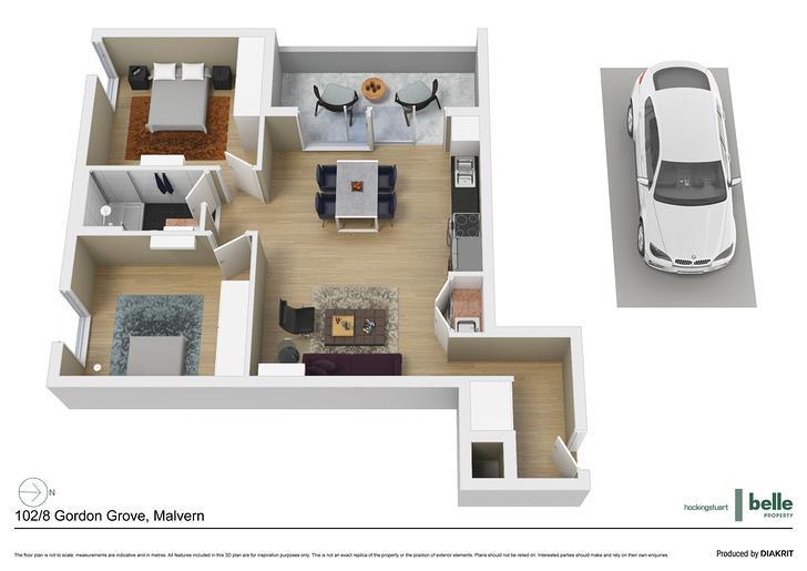 102/8 Gordon Grove, Malvern 3144, VIC Apartment Photo