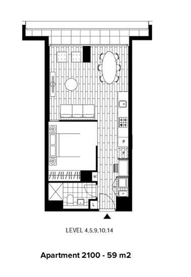 2100/48 Skyring Terrace, Newstead 4006, QLD Apartment Photo