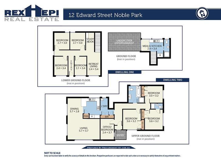12 Edward Street, Noble Park 3174, VIC House Photo
