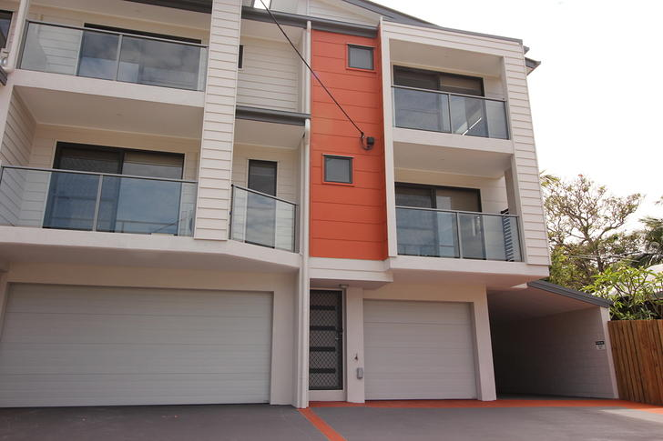 2/12 Burnley Street, Newmarket 4051, QLD Townhouse Photo