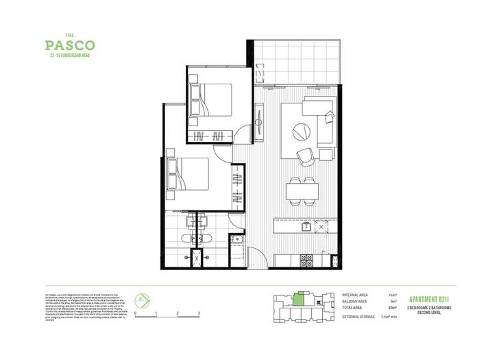 211B/23-25 Cumberland Road, Pascoe Vale 3044, VIC Apartment Photo
