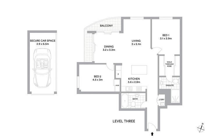 312/1 Sergeants Lane, St Leonards 2065, NSW Apartment Photo