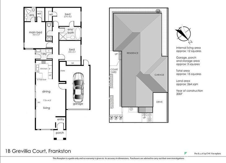 1B Grevillia Court, Frankston 3199, VIC Unit Photo