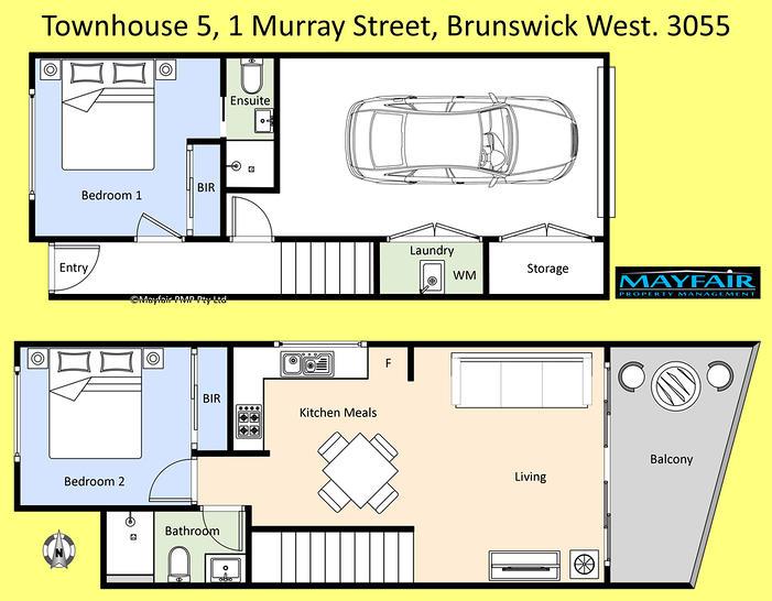 5/1 Murray Street, Brunswick West 3055, VIC Townhouse Photo