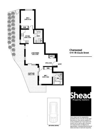 4/41-45 Claude Street, Chatswood 2067, NSW Unit Photo