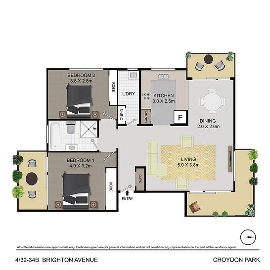 4/32B - 34 Brighton Avenue, Croydon Park 2133, NSW Apartment Photo
