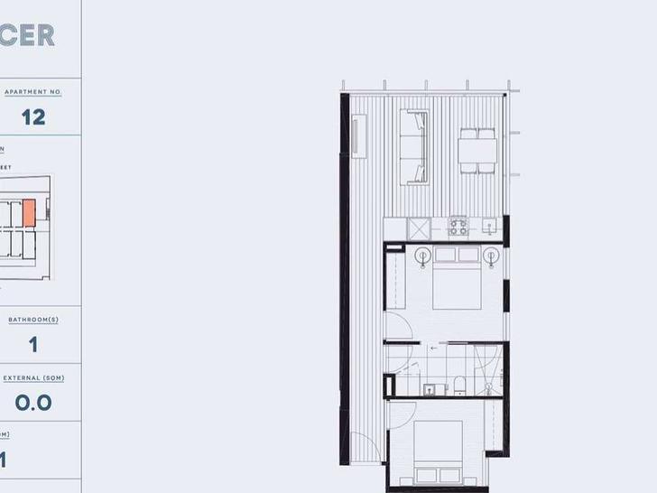 512/420 Spencer Street, West Melbourne 3003, VIC Apartment Photo