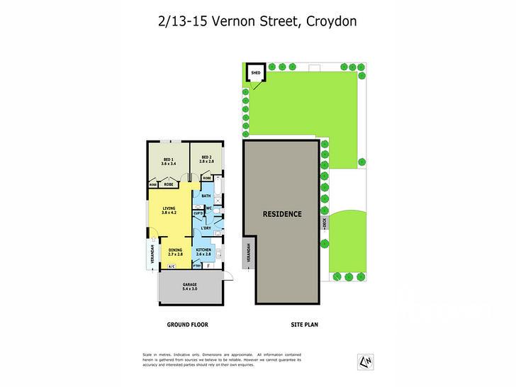 2/13-15 Vernon Street, Croydon 3136, VIC Unit Photo