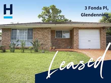 3 Fonda Place, Glendenning 2761, NSW House Photo