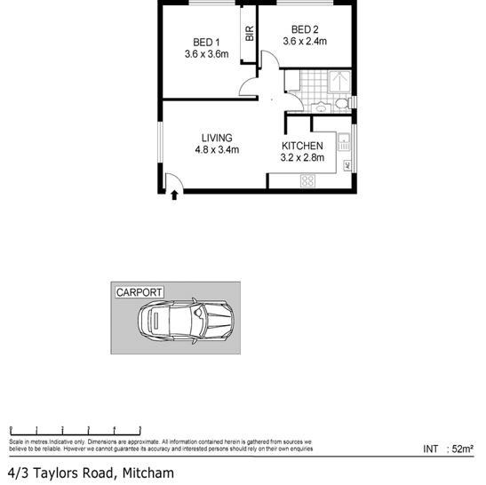 4/3 Taylors Road, Mitcham 5062, SA Unit Photo