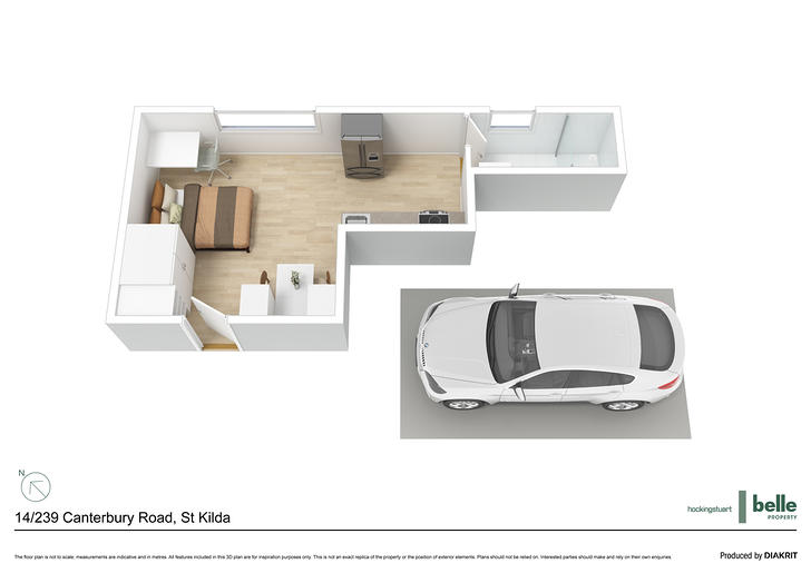 14/239 Canterbury Road, St Kilda West 3182, VIC Apartment Photo
