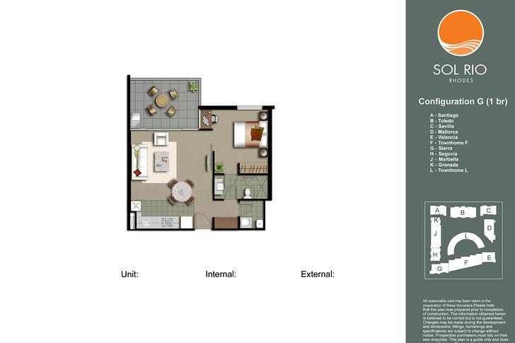 LEVEL 1/A105/10 - 16 Marquet Street, Rhodes 2138, NSW Apartment Photo