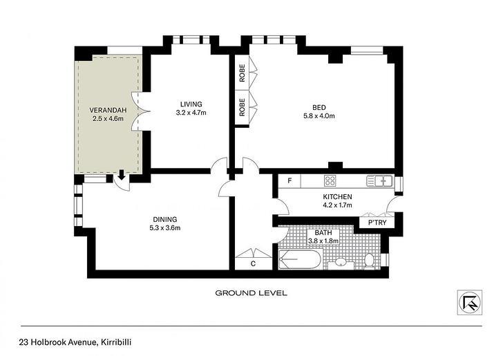 1/23 Holbrook Avenue, Kirribilli 2061, NSW Apartment Photo