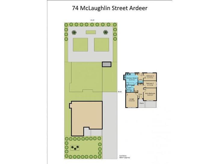 74 Mclaughlin Street, Ardeer 3022, VIC House Photo