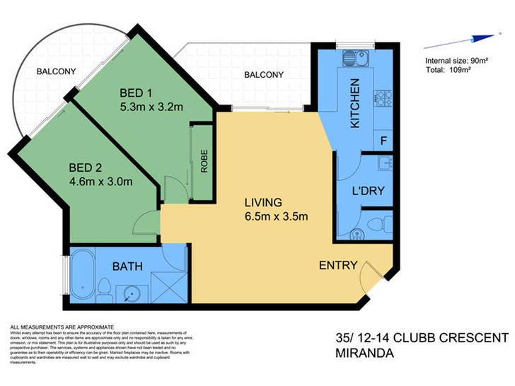 35/12-14 Clubb Crescent, Miranda 2228, NSW Apartment Photo