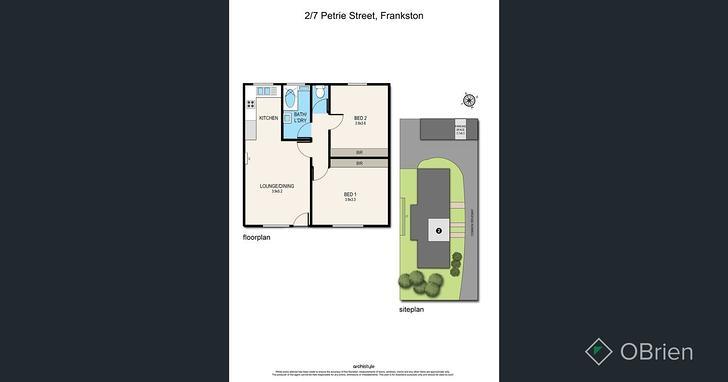2/7 Petrie Street, Frankston 3199, VIC Unit Photo