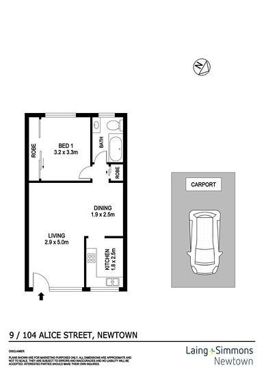 9/104 Alice Street, Newtown 2042, NSW Apartment Photo