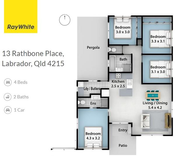 13 Rathbone Place, Labrador 4215, QLD House Photo