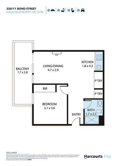 320/11 Bond Street, Caulfield North 3161, VIC Apartment Photo