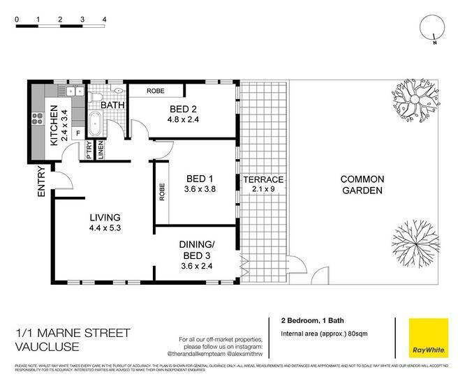 1/1 Marne Street, Vaucluse 2030, NSW Apartment Photo