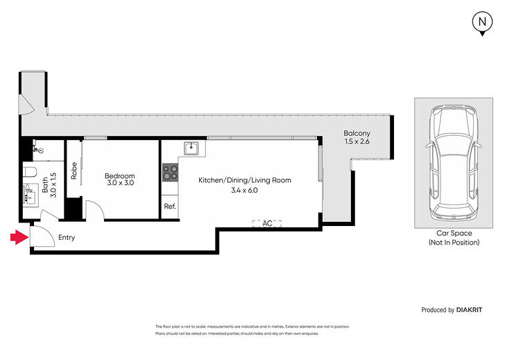 2302/170-178 Edward Street, Brunswick East 3057, VIC Apartment Photo