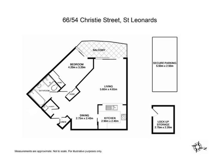 66/54 Christie Street, St Leonards 2065, NSW Apartment Photo