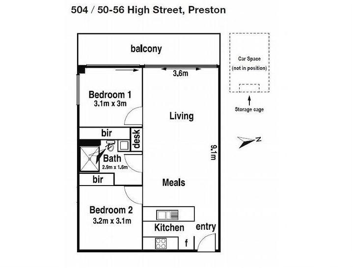 504/50-56 High Street, Preston 3072, VIC Apartment Photo