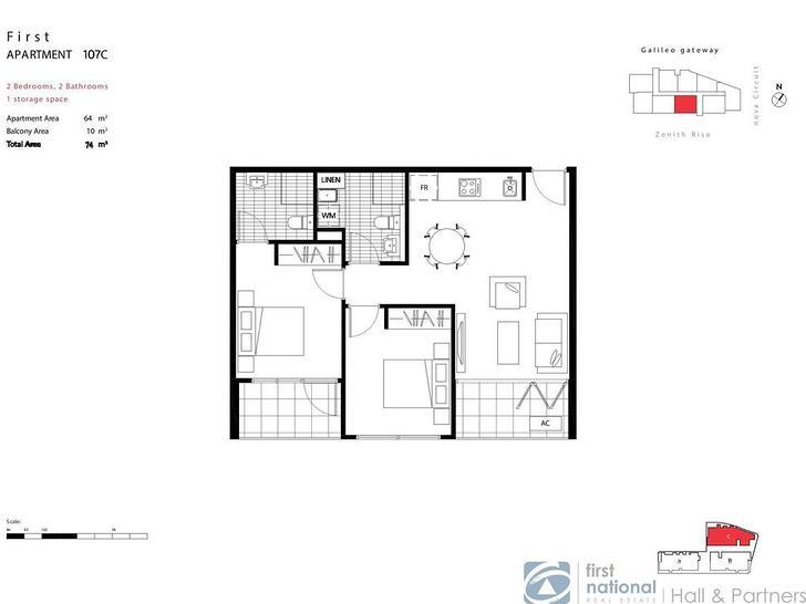107C/28 Galileo Gateway, Bundoora 3083, VIC Apartment Photo