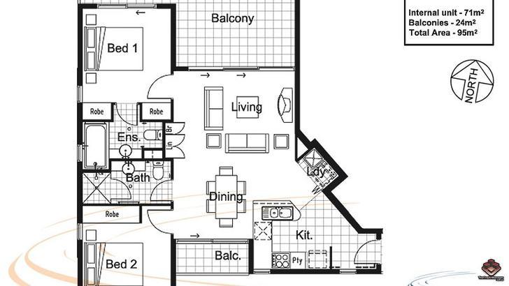 3201/ 92-100 Quay Street, Brisbane City 4000, QLD Apartment Photo