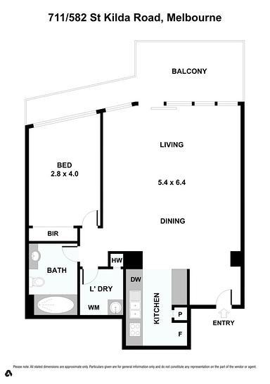 711/582 St Kilda Road, Melbourne 3004, VIC Apartment Photo