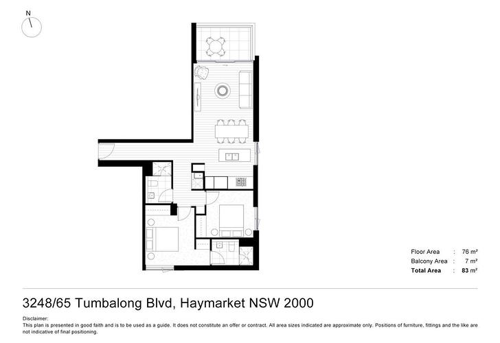 L24/65 Tumbalong Boulevarb, Haymarket 2000, NSW Apartment Photo