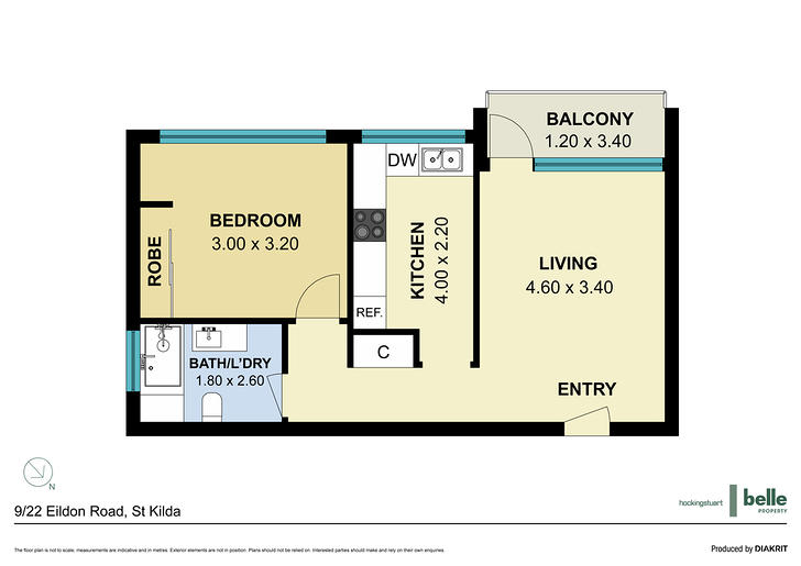9/22 Eildon Road, St Kilda 3182, VIC Apartment Photo