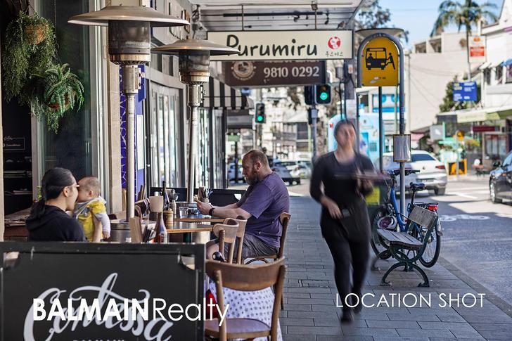 LEVEL 1/100 Reynolds Street, Balmain 2041, NSW Studio Photo