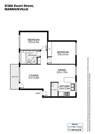 9/38A Ewart Street, Marrickville 2204, NSW Apartment Photo