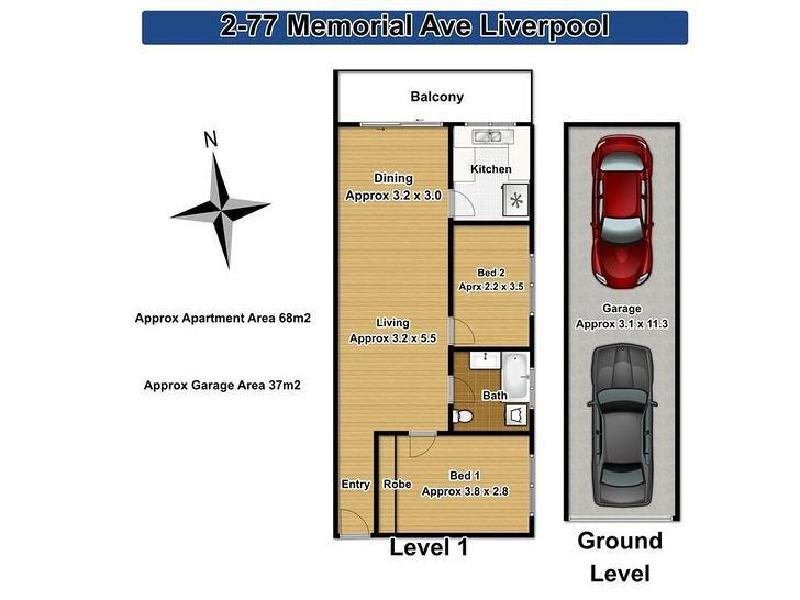 2/77 Memorial Avenue, Liverpool 2170, NSW Apartment Photo