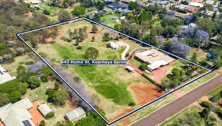 643 Hume Street, Kearneys Spring 4350, QLD House Photo