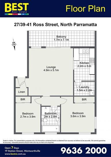 2739-41 Ross Street, North Parramatta 2151, NSW Unit Photo