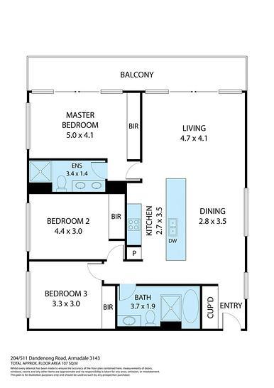 204/511 Dandenong Road, Armadale 3143, VIC Apartment Photo