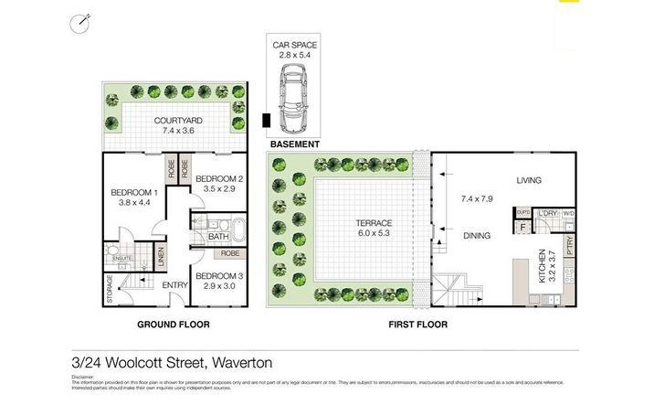 3/24 Woolcott Street, Waverton 2060, NSW Apartment Photo