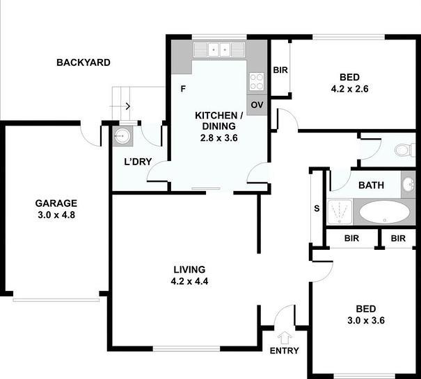 4/296-298 Hope Street, Brunswick West 3055, VIC Apartment Photo